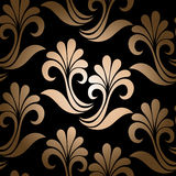 Seamless Ornate Floral Pattern Stock Images