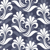 Seamless Ornate Floral Pattern Royalty Free Stock Photos