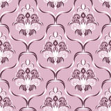 Seamless ornate floral Wallpaper for Design Royalty Free Stock Photos