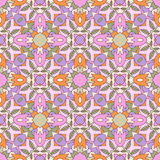Seamless ornate geometric pattern, abstract backgr Royalty Free Stock Images