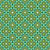 Seamless ornate geometric pattern, abstract background Royalty Free Stock Image