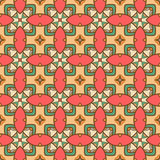 Seamless ornate geometric pattern, abstract background Royalty Free Stock Photography