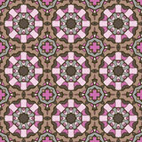 Seamless ornate geometric pattern, abstract background Stock Image