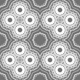 Seamless ornate geometric pattern, abstract background Royalty Free Stock Photos