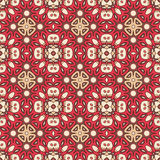 Seamless ornate geometric pattern, abstract background Stock Images