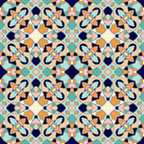 Seamless ornate geometric pattern, abstract background Stock Photography