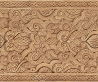 Seamless Ornate Moorish Pattern Stock Photos