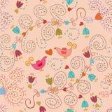 Seamless ornate pattern Stock Image