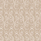 Seamless Ornate Pattern (Vector) Royalty Free Stock Photos