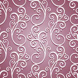 Seamless Ornate Pattern (Vector) Royalty Free Stock Images