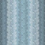 Seamless Ornate Pattern (Vector) Stock Images