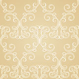 Seamless Ornate Pattern (Vector) Stock Photography