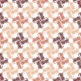 Seamless Ornate Pattern (Vector) Stock Image