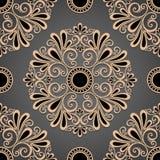 Seamless Ornate Pattern (Vector) Stock Image