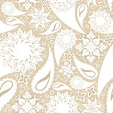 Seamless ornate texture Royalty Free Stock Photos
