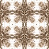 Seamless ornate texture or pattern in brown 3 Royalty Free Stock Image