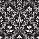 Seamless ornate wallpaper. Seamless ornamental wallpaper, floral pattern, illustration Royalty Free Stock Image
