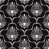 Seamless ornate Wallpaper for design Royalty Free Stock Photos