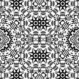 Seamless Outline Floral Pattern Royalty Free Stock Photography