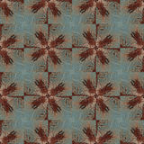 Seamless painted rusty metal pattern. Royalty Free Stock Photos