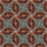 Seamless painted rusty metal pattern. Stock Images