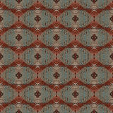 Seamless painted rusty metal pattern. Stock Image