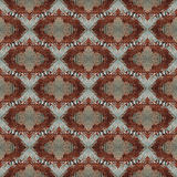 Seamless painted rusty metal pattern. Royalty Free Stock Images