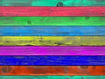 Seamless painted wood plank texture Royalty Free Stock Image
