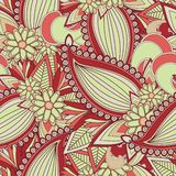 Seamless paisely pattern Stock Photo