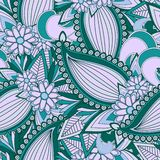 Seamless paisely pattern Stock Image