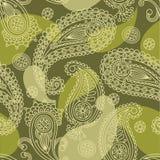 seamless paisley stock illustrationer