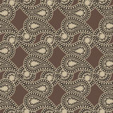 Seamless Paisley backgroun Stock Images