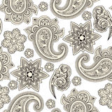 seamless paisley background, Stock Photography