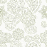 Seamless Paisley Background Royalty Free Stock Photos
