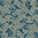Seamless Paisley Background Royalty Free Stock Photography