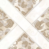 seamless paisley background Stock Photography