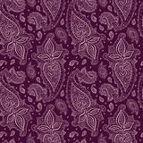 Seamless Paisley background. Royalty Free Stock Photo