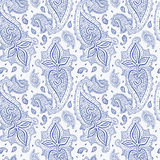 Seamless Paisley background. Royalty Free Stock Image