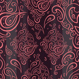 Seamless Paisley background. Stock Photography