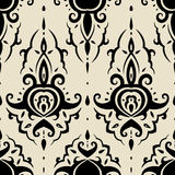 Seamless Paisley background. Royalty Free Stock Photos
