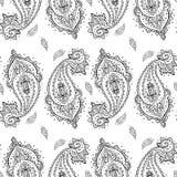 Seamless Paisley background. Stock Image