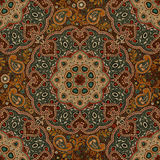 Seamless Paisley background, floral pattern. Colorful ornamental background. Indian ornament. Beautiful Indian ornament Royalty Free Stock Image