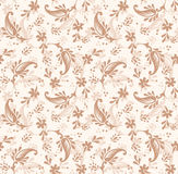 Seamless paisley background for invitation card Stock Photo