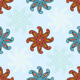Seamless Paisley background Royalty Free Stock Photo