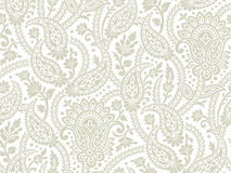 Seamless paisley background Stock Photo