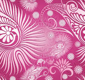 Seamless paisley background Stock Photos
