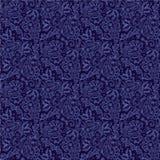 Seamless paisley background stock illustration