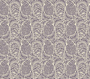 Seamless paisley and floral pattern Royalty Free Stock Photos
