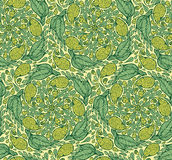 Seamless paisley and floral pattern Royalty Free Stock Images