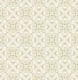 Seamless paisley guld- Wallpaper-Bakgrund Fotografering för Bildbyråer